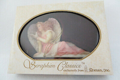Evangeline Angel Of Mercy Seraphim Angels Classics Roman Ornament #69827 - NIB Seraphim Angel Ornaments
