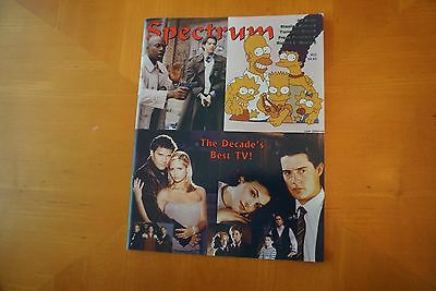 Spectrum Magazine (1994) #22 1990s Best TV Sci-Fi Movie TV Comic Book Fanzine