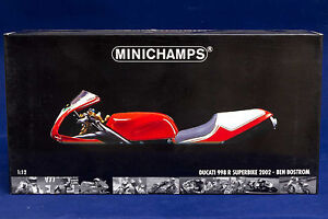Ducati 998 R Superbike 2002 Ben Bostrom MINICHAMPS 1:12 - NEW! Narre Warren Casey Area Preview