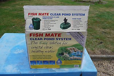 Fish Mate Clear Pond System 2500 PS