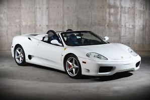 2001 Ferrari 360 6-speed Manual
