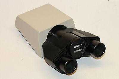 Nikon Binocular Microscope Head For Labophot And Optiphot Microscopes