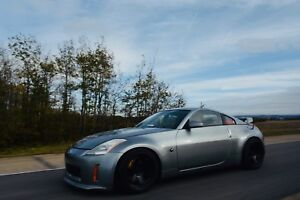 03 supercharged nissan 350z track