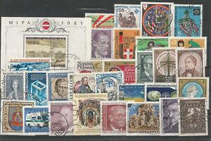 Osterreich-Jahrgang-1981-gestempelt-komplett