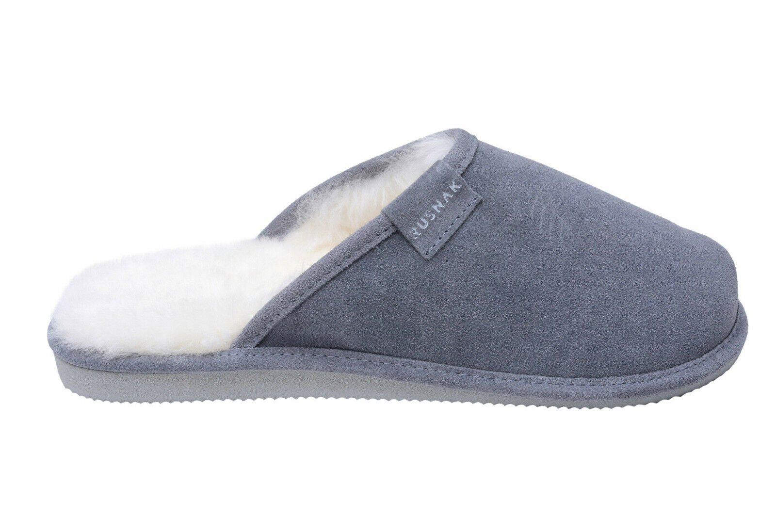 New Womens Sheepskin Mule House Slippers Shoes Wool Lining UK Size 3 4 5 6 7 8