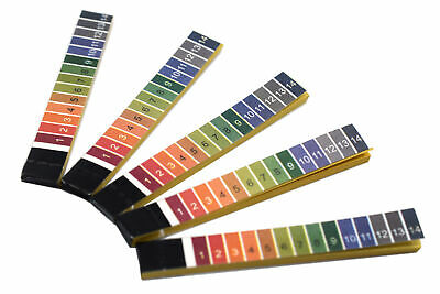 Ph Test Paper 100 Strips - Ph Range 1 To 14 - In Plastic Container - Eisco Labs