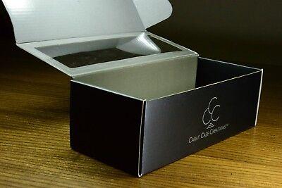 Playing Card Box (Carat XCB Cardboard Brick Box w/ Viewing Window - Store 12 Playing Card)