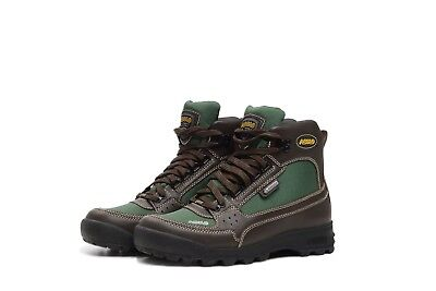 AUTHENTIC MEN'S ASOLO SKYRISER HIKING BOOTS AS-501 M BROWN- GREEN SZ 8-13 *NEW* Asolo Leather Hiking Boots