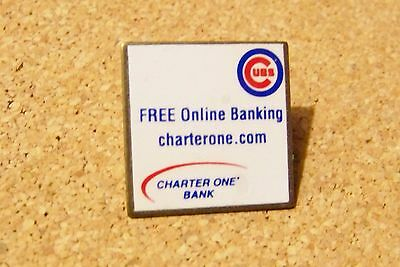 Chicago Cubs Free Online Banking Charterone Com Lapel   Hat Pin Mlb Bank