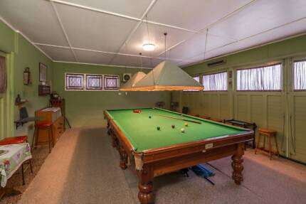 12 ft x 6 ft English billiard table Ashgrove Brisbane North West Preview