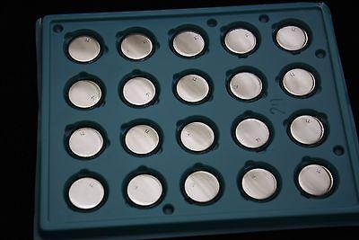 20x Panasonic CR2032 3V LITHIUM BATTERY COIN CELL 225mAh 20mm x 3.2mm Radio