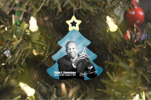 Elijah E. Cummings Signature Tree Ornament