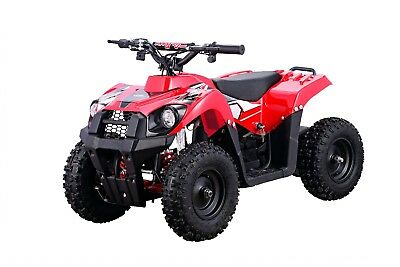 Four Wheeler For Kids ATV 500W 36V Red Electric Battery Ride On Mini Quads Toy