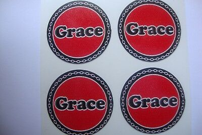 "16  GRACE  CROWN GREEN STICKERS  1""   LAWN BOWLS FLATGREEN  AND INDOOR BOWLS"