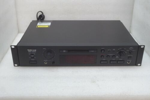 TASCAM MD350 MINI DISC PLAYER / RECORDER WORKING