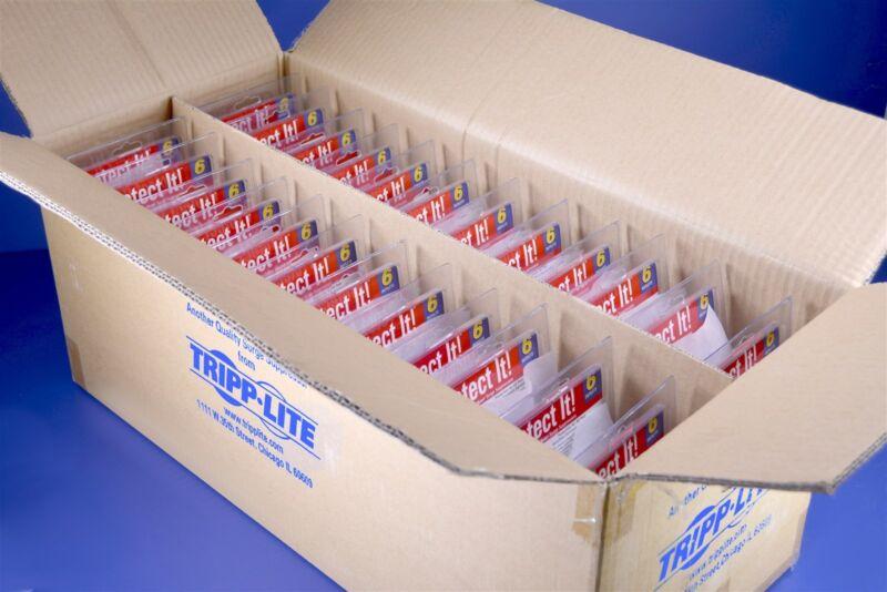 24 Tripp Lite SK6-0 6 Outlet Surge Protectors 540 Joules with Diagnostic LED