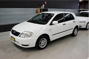 2002 Toyota Corolla Ascent Seca Automatic Hatchback Sandgate Newcastle Area Preview