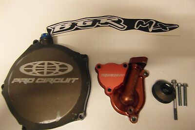 Pro Cirquit clutch cover and waterpump kit Kawasaki KXF 250 2009/2016 segunda mano  Embacar hacia Argentina