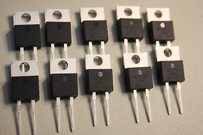 10X On Semiconductor 8A 600V U860 Ka Switch Mode Power Rectifiers 2 Pole Mur860