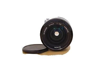 Excellent* Nikon NEW NIKKOR 24mm f/2.8 Non-Ai Lens Adapt To Sony Mirrorless Etc.