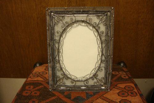 Vintage Turkish Argento Silver Frame 5 X 7 Photo