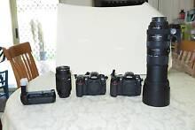 Nikon D200 & D300 Digital SLR & Sigma DG APO 150-500mm lens pack Calamvale Brisbane South West Preview