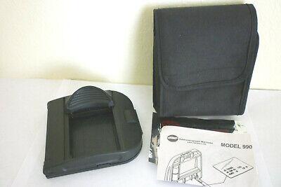 Addressograph Bartizan 990 Portable Credit Card Imprinter