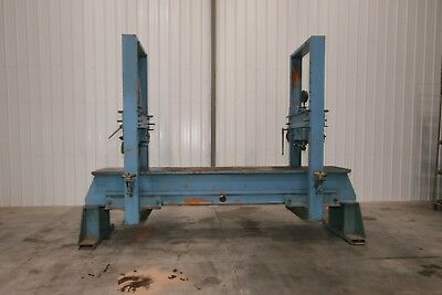 10467 Dake Duel Traveling Column H-frame Straightening Press Model 19-311
