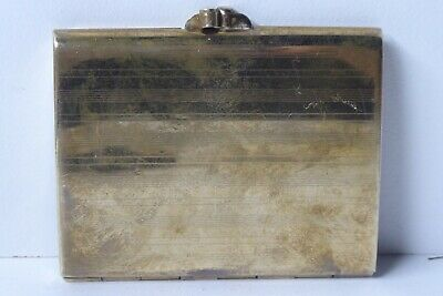 VINTAGE BRASS STRATTON COMPACT PRODUCT PAT