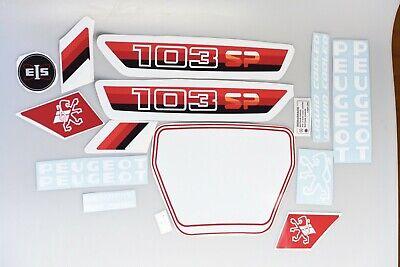 kit autocollant mobylette peugeot 103 slc