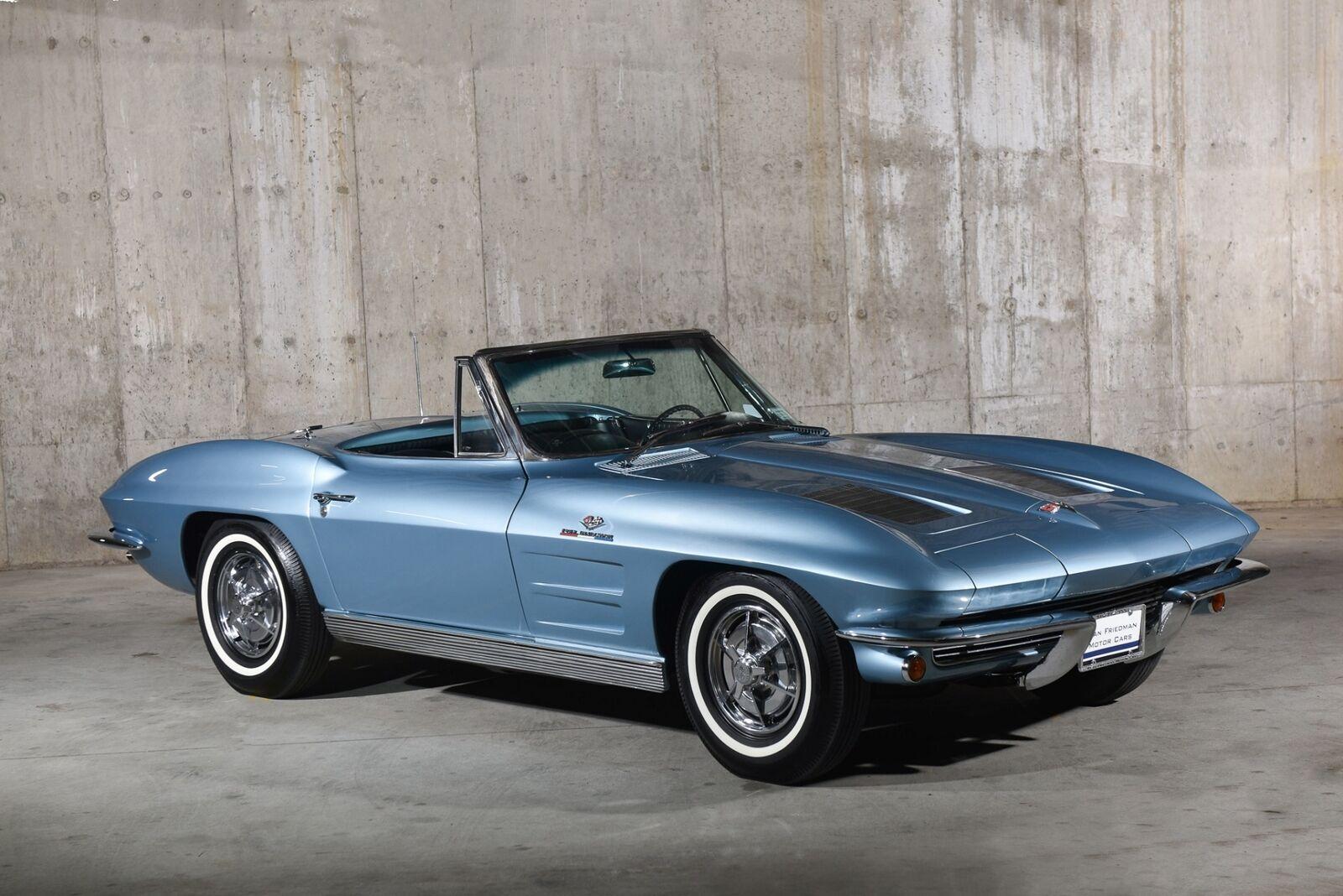1963 Blue Chevrolet Corvette   | C2 Corvette Photo 2