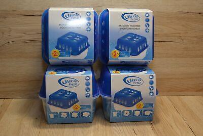 4 Stück Feuchtigkeitsstopper Luftentfeuchter Entfeuchter mit je 2 x 400g Beutel