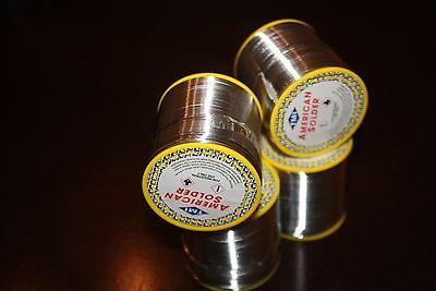 New 400g 0.8mm 6040 Tin Lead Solder Rosin Flux Wire Roll Soldering Pack Of 4