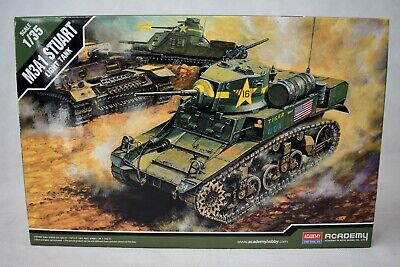 Academy M3A1 Stuart Light Tank 1/35 Scale Model Kit