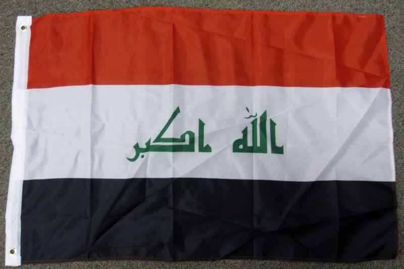 IRAQ FLAG 2X3 ARABIC COUNTRY IRAQI 2