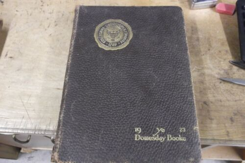 Ye Domesday Booke 1923--Georgetown University Yearbook