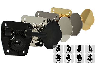 GOTOH SG301-20 Tuning Machine with Grover shaped buttons Cosmo Black 3L x 3R