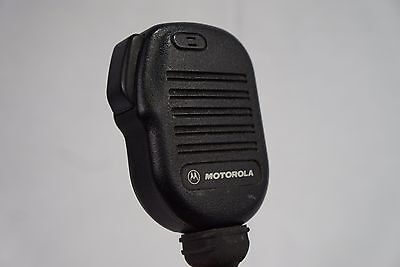 Motorola Microphone Radio Speaker Part Number Nmn6193b Tested Working