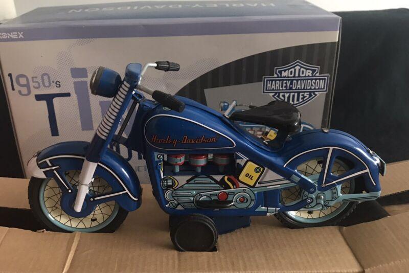 HARLEY-DAVIDSON  TIN TOY  50s Motorcycle