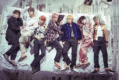 "KPOP : "" BTS "" Official Poster ;  WINGS"
