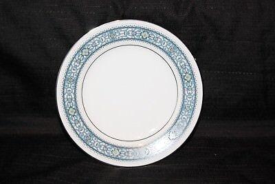 - Noritake Larue Bread & Butter Dessert Plate China Japan Blue Scroll Platinum