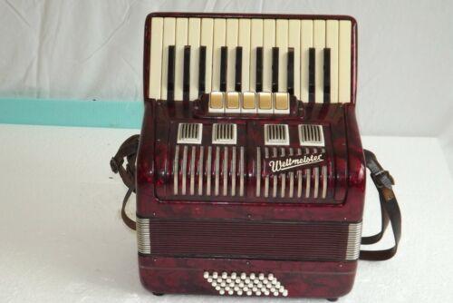 Piano accordion akkordeon  WELTMEISTER  40 bass