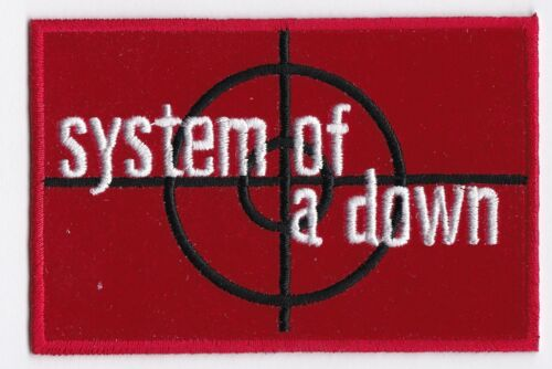SYSTEM OF A DOWN - IRON or SEW-ON PATCH