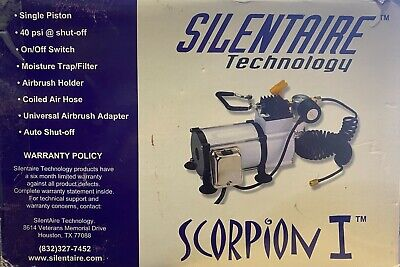 Silentaire Technology Scorpion I 1 Air Compressor - Single Piston Auto Shut-off