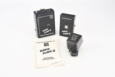 Quantum Radio Slave II Frequency C Transmitter and Receiver with Cord Manual V07 Quantum Radio Slave