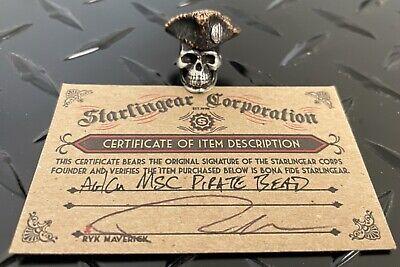 Starlingear Bead: MSC mick strider Pirate Silver/Copper