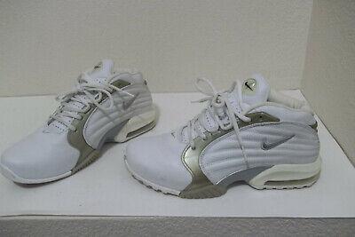 premium selection 75a3f 90cc5 Nike Air Max Q White Multi Basketball Shoes Sneakers 304813-101 Mens Boys  SZ 6.5