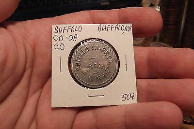 Buffalo Co Op Co  Buffalo Minn  Good For  50 Cents In Trade