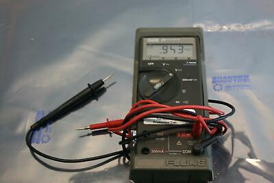 Fluke 77 Digital Multimeter With Leads Range Touch Hold 300ma 10a Fused 1000v