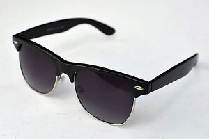 Black-Retro-Vintage-Clubmaster-Wayfarer-Sunglasses-Mens-Womens-Fashion-UV400